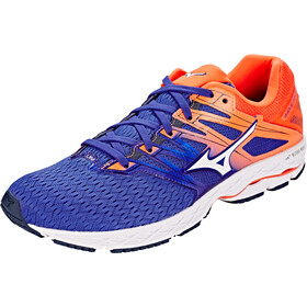 Mizuno Wave Shadow 2 Shoes Men Reflex Blue/White/Nasturtium